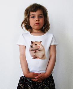 Hamster T-Shirt für Mädchen - lovely lion