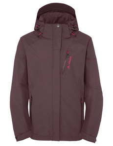 Women's Furnas Jacket II - dark plum - VAUDE