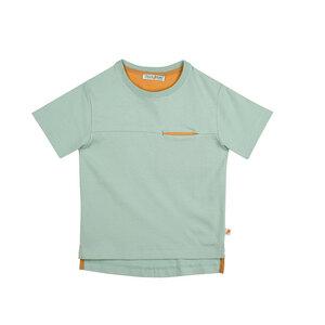 T-Shirt Kontrasttasche aus Biobaumwolle - filius feez