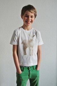 Zicken T-Shirt für Jungs - lovely lion
