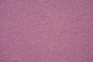 Stoff Bio-Baumwoll-Jersey altrosa meliert - Lebenskleidung