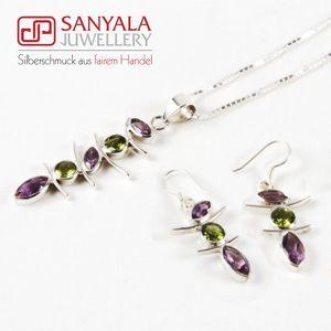 Silber-Schmuckset ASIA Fairtrade - SANYALA