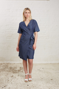 Bronwen Wrap Dress - People Tree