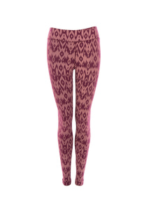 Leggings Lima, desert sand - red wine - Jaya