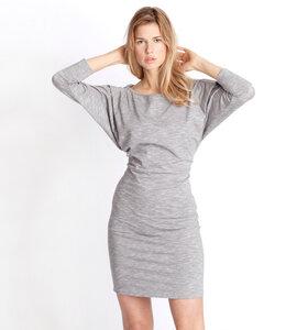 Kleid Milla, grey melange - Jaya