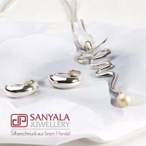 Silber-Schmuckset SWING Fairtrade - SANYALA