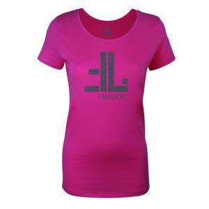 FAIRLIEBT Logo Girlie T-Shirt, pink - Fairliebt.