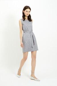 Rhonda Dress Grey - People Tree