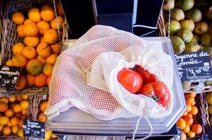 Großpack 25 x Obst und Gemüsenetz  - Re-Sack
