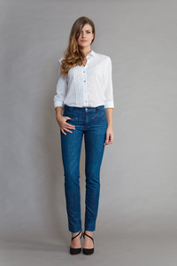HAZEL Night Blue - SEY organic Jeans