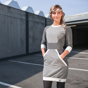 Polygon Dress grau - eisbörg