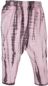 OGNX Harems Pant Loose Fit 7/8 Pant Batik Dark Rosé - OGNX