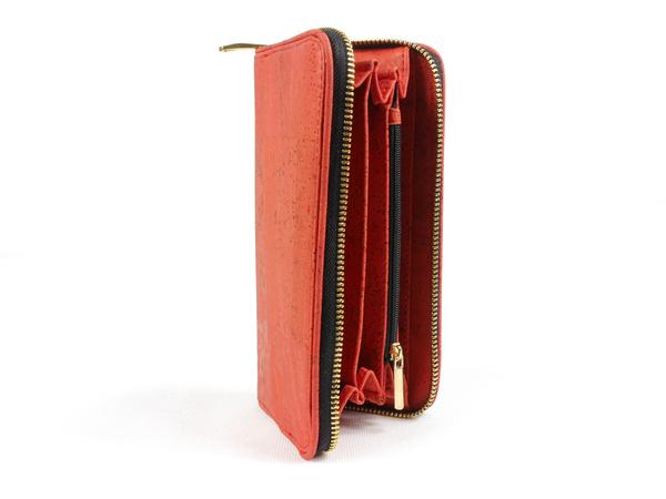kork portemonnaie geldbeutel f r damen aus kork korkleder rot von simaru bei avocado store. Black Bedroom Furniture Sets. Home Design Ideas