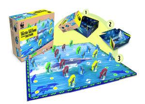 Delfin Solitär Spiel - WWF