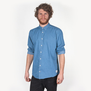 MOI SCHIET UNISEX DENIM SHIRT LIGHT DENIM - HAFENDIEB
