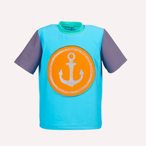 UV-Schutz Shirt Anker - early fish