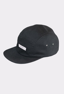 JAPAN REDUCED 5-Panel Cap (Classic Black) - Rotholz