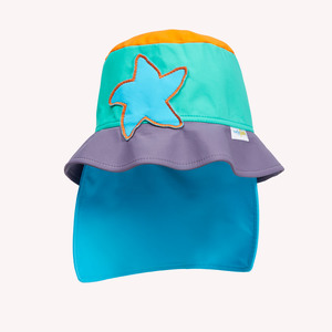 UV-Schutz Hut Nackenschutz - early fish