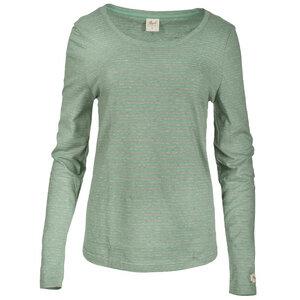 Gestreiftes Yoga Langarmshirt  - People Wear Organic