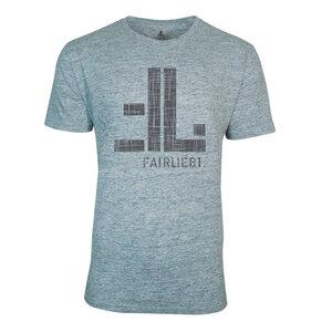 FAIRLIEBT Logo T-Shirt, grau - Fairliebt.