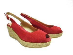 Wedges Red Velvet - shoemates