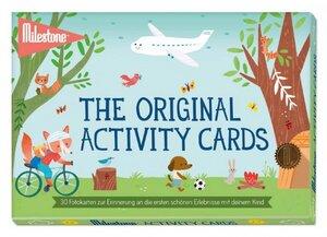 MILESTONE ACTIVITY CARDS - DEUTSCHE VERSION - SET EINZELN VERSCHWEISST - Milestone