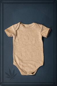 Babybody pure Hanfjersey  - Hanfwelten
