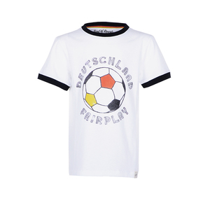 Fairplay - Kinder Fußball T-Shirt Kurzarm aus 100% Bio-Baumwolle - Band of Rascals