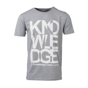 Tee Knowledge Print - KnowledgeCotton Apparel