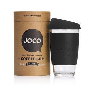 Borosilikatglas-Becher to go mit Deckel - JOCO