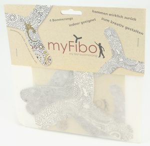 myFibo 4er Set Bumerangs - TicToys