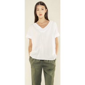 Arabie Top white - L'Herbe Rouge