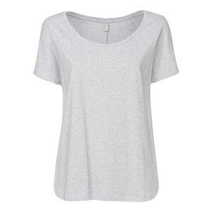 ThokkThokk TT17 Oversize Woman T-Shirt Melange Grey - THOKKTHOKK