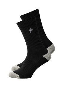 Unisex Socken schwarz Basic - recolution