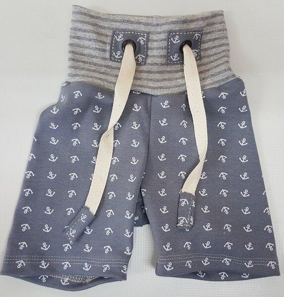 Shorts Anker Grau