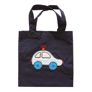 Kindertasche mit Auto-Applikation - People Wear Organic