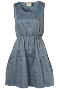 Pleat Hem Dress - Annie Greenabelle