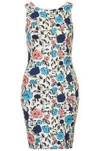 CLEO DRESS BLUE ROSE - Annie Greenabelle