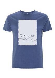 Paperboat 2.0 Men T-Shirt Bio & Fair Wear _ denim - ilovemixtapes