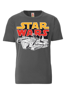 Millenium Falke - Star Wars - T-Shirt - LOGOSH!RT - 100% Organic Cotto - LOGOSH!RT