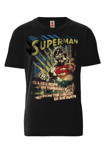 LOGOSHIRT - DC Comics - Superman - Last Hope - T-Shirt Bio - LOGOSH!RT