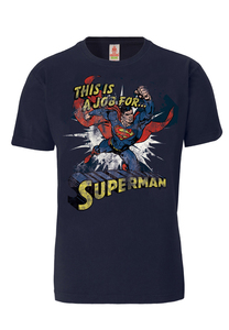 Superman`s Job - T-Shirt - DC Comics - LOGOSH!RT - 100% Organic Cotton - LOGOSH!RT