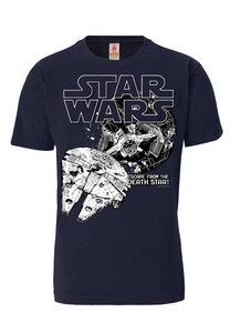 LOGOSHIRT - Star Wars - Death Star - T-Shirt - 100% Organic Cotton - LOGOSH!RT