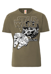LOGOSHIRT - Star Wars - Death Star - T-Shirt - 100% Organic Cotton - LOGOSH!RT