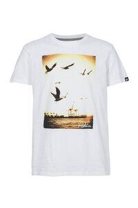 Männer Shirt Hafen weiß - recolution