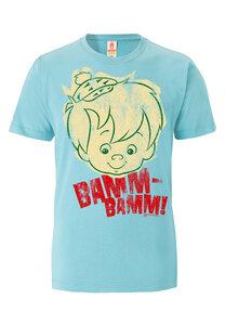 LOGOSH!RT - Flintstones - Bamm Bamm - Gesicht - T-Shirt Bio - LOGOSH!RT