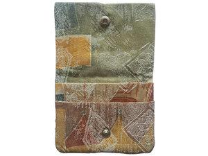 Leesha WILDe Upcycling Portemonnaie 90er aus Stoff - Leesha