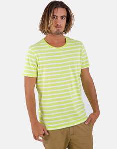 Lime Stripes Shirt - merijula