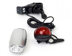Swallow - Dynamo Accu LED Fahrradleuchtenset - Powerplus