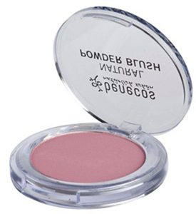 Compact blush MALLOW ROSE - benecos